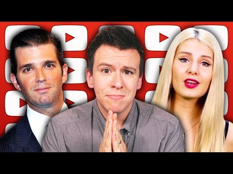 Thumbnail: Why People Are FREAKING OUT About Trump Jr's Email Dump and YouTubers Attacked At G20 Protest