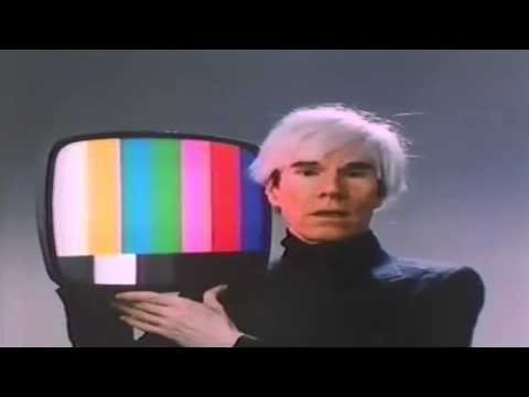 Andy Warhol , TDK video tape commercial