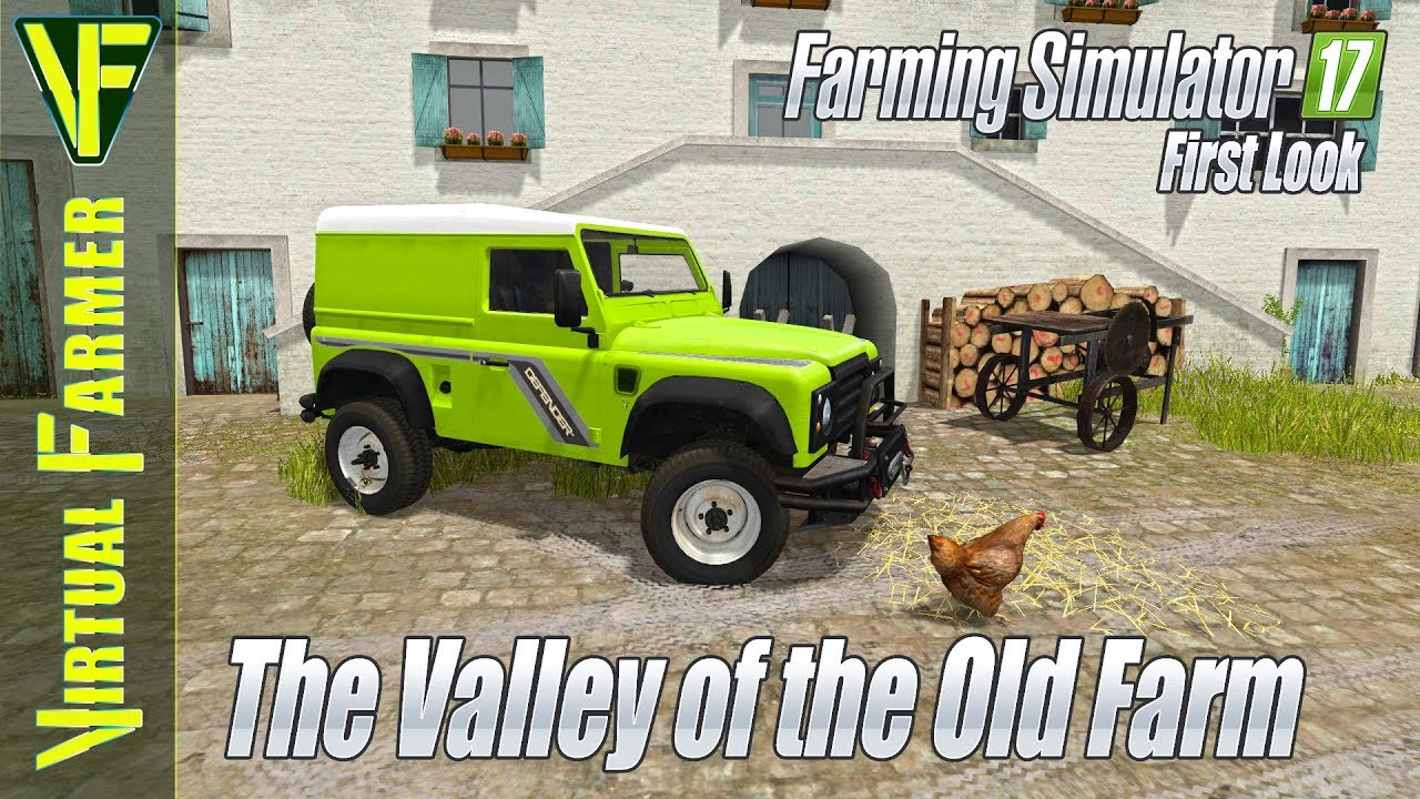 The Valley of the Old Farm by Black Sheep Modding: Farming Simulator 17 Map  First Look