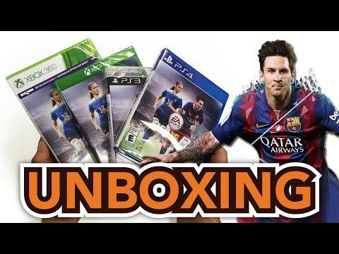 FIFA 16 (Xbox One/PS4/PS3/Xbox 360) Unboxing !!