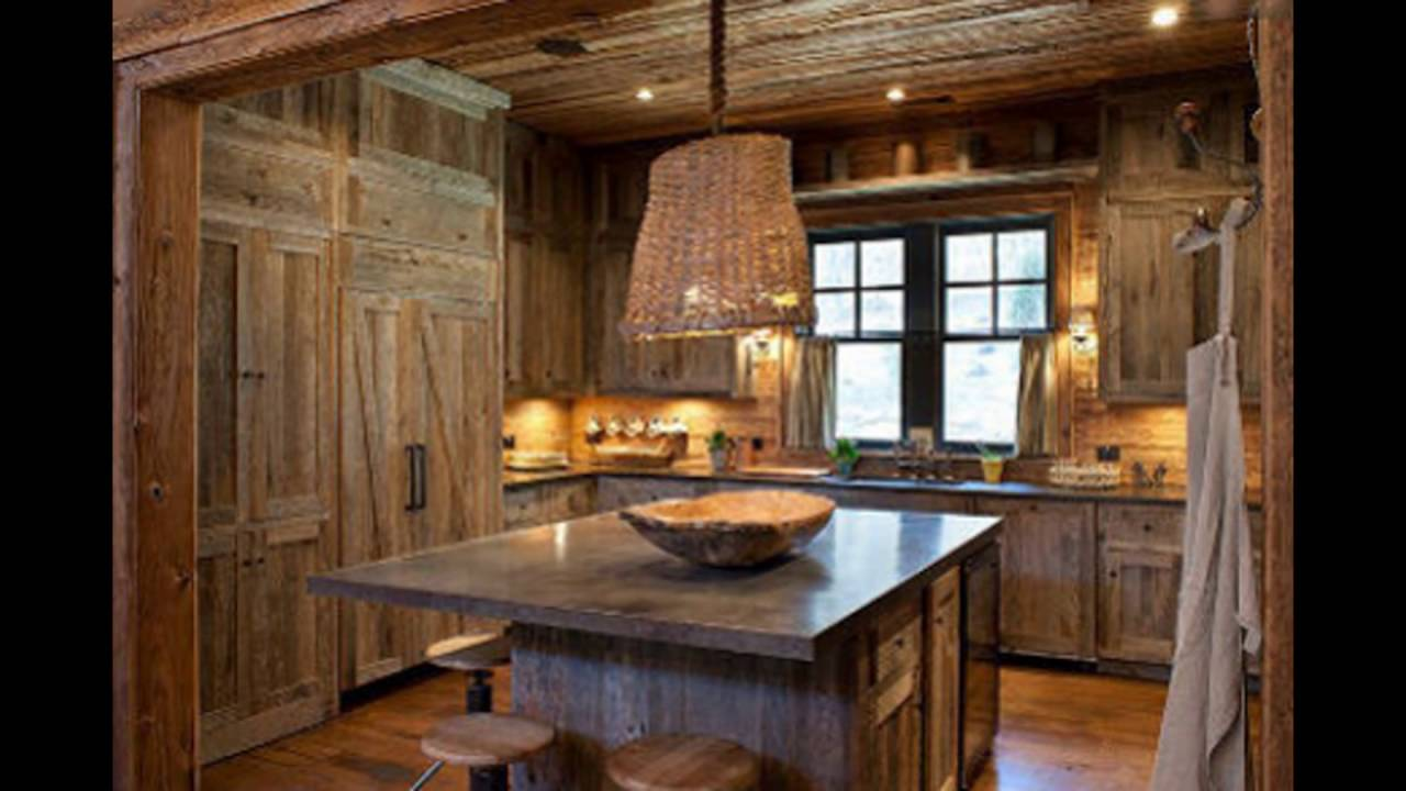 Barn Wood Kitchen Cabinets - Homebase Wallpaper