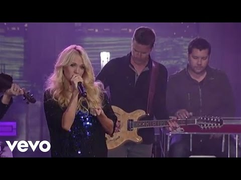 Carrie Underwood  All American Girl  on Letterman