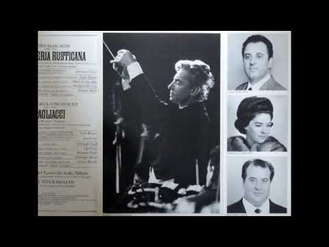 Cavalleria Rusticana; Bergonzi, Cossotto, Guelfi & Karajan; 1966