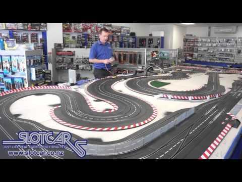 Palu Gage Tyres on Carrera McLaren M20 – Slotcar Ltd NZ