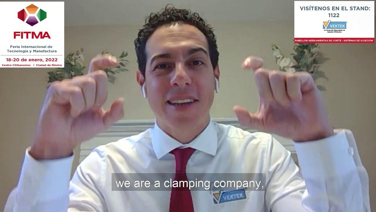 """""""FITMA será la oportunidad de encontrarnos con nuestros clientes y socios"""": Armando Gordillo, Vektek"""