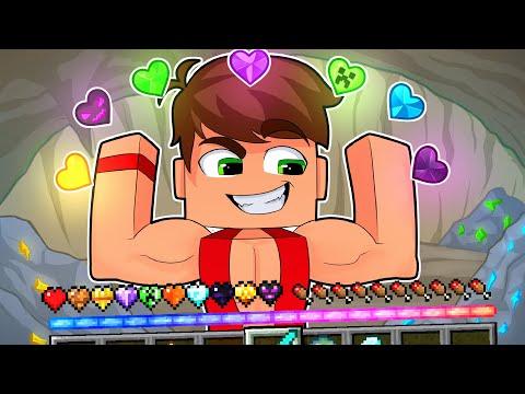ماين كرافت صنعت قلوب من الموارد والوحوش!🔥 (قلب التنين!)😱 - Custom Hearts