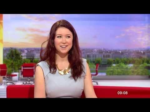 Hayley Westenra on BBC Breakfast 17 June 2013 - Hushabye album promotion