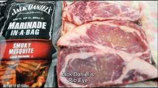 Receta Cocina Rib Eye Marinado En Salsa Jack Daniel´s