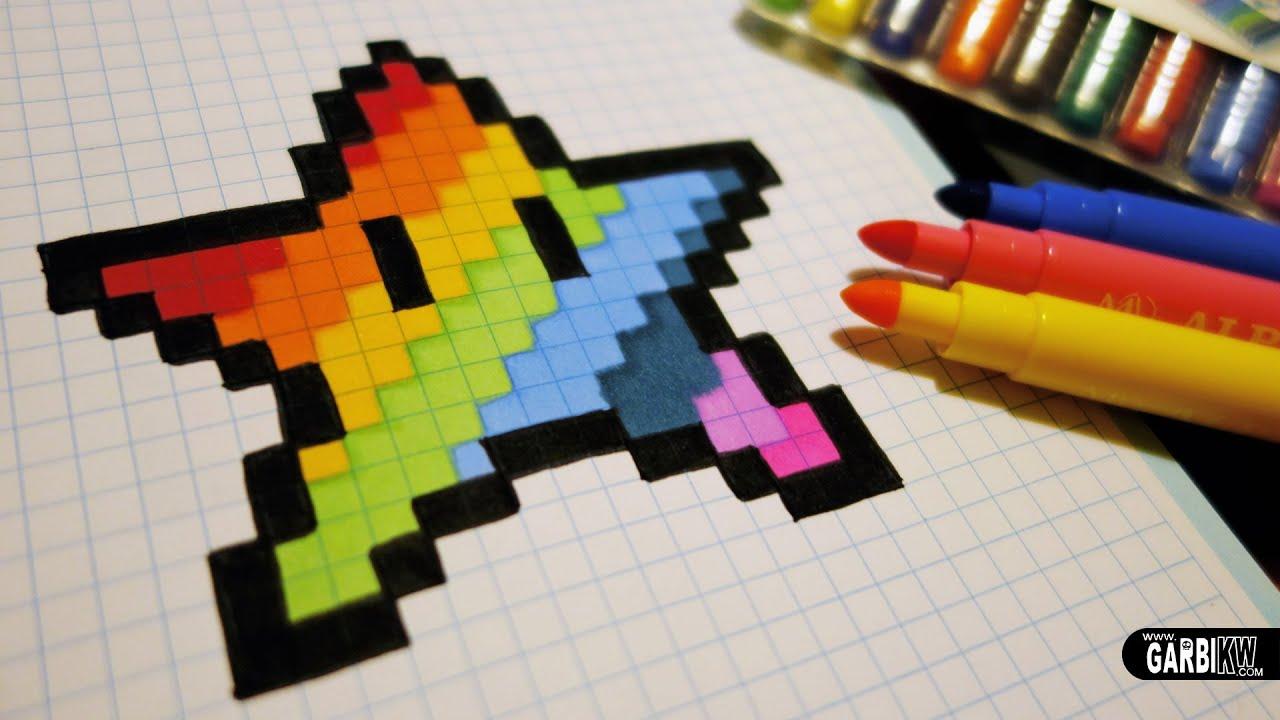 Pixel Art Etoile Facile