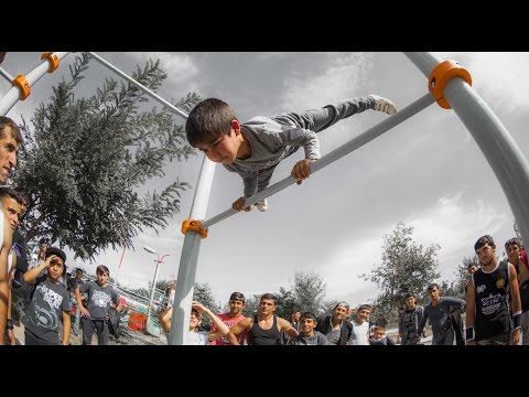 Workout Park opening in Armavir city (Street Workout Armenia