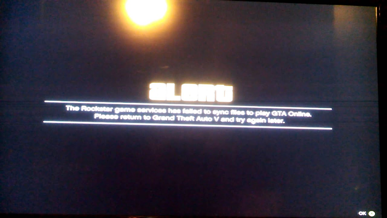 The Rockstar Game Services Are Unavailable Right Now Xbox One