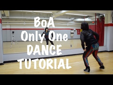Only One ~ BoA Dance Tutorial Step by Step