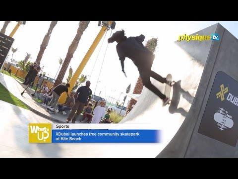 XDubai launches free community skatepark at Kite Beach