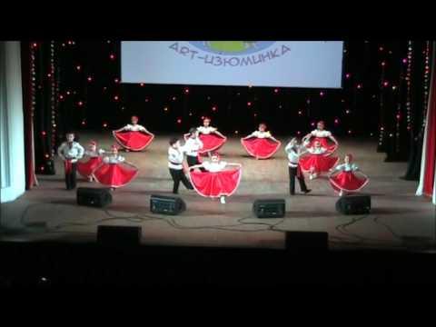874 Театр танца Пируэт г Екатеринбург Калинка малинка