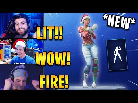 Streamers React to *NEW* Showstopper Emote! *RARE* | Fortnite Highlights & Funny Moments