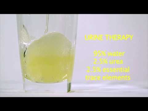 urine therapy trace elements