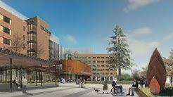 West Park Healthcare Centre New Hospital Flythrough