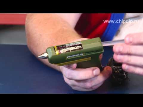 Proxxon. Клеевой пистолет HKP 220
