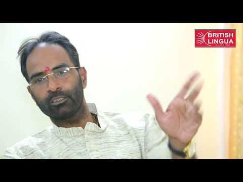 Sanjay Mayukh, MLC, BJP National Media Deputy Incharge Speaks about British Lingua MD, Dr Birbal Jha
