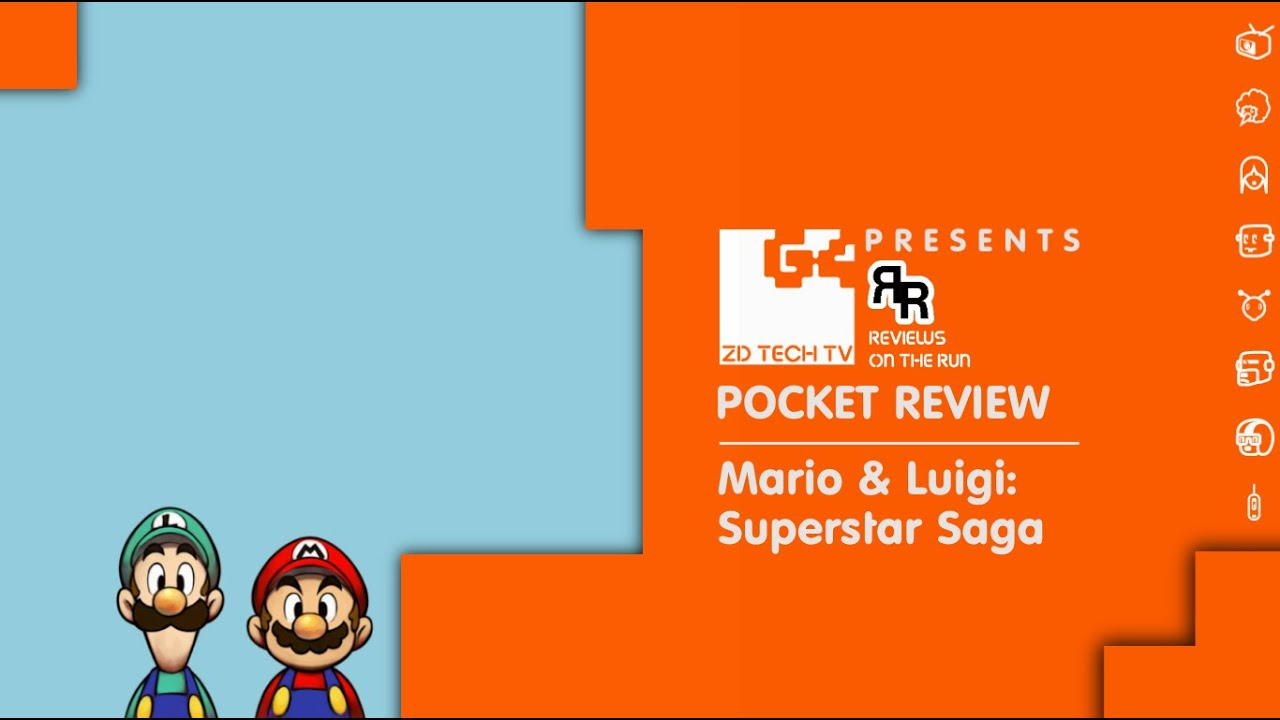 Rotr Classic Pocket Review Mario Luigi Superstar Saga Gba