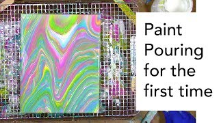 What to Know When Paint Pouring for the First Time