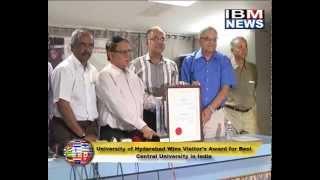 IBM NEWS_ University of Hyderabad Wins Visitor