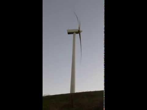 Toora Wind Farm, South Gippsland, Victoria, Australia, noise, sound of turbine