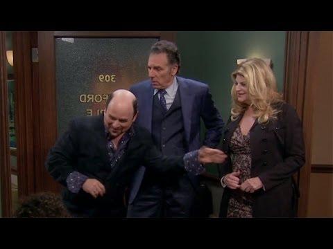 Seinfeld Reunion on 'Kirstie' With Jason Alexander and Michael Richards