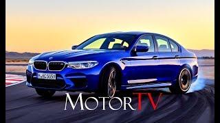 ALL NEW 2018 BMW M5 (F90) 4.4 V8 Bi-turbo 600 HP L RACETRACK DRIVING SCENES (PURE SOUND!)