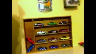 Diy Hotwheels Display Case.