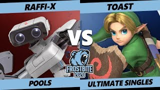 Frostbite 2020 SSBU Pools - Illuz   Raffi-X (ROB) Vs. Toast (Young Link) Ultimate Singles - SSBU