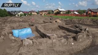 Archeologists unearth Stonehenge's older brother in Ukraine