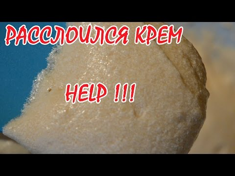 Как загустить масляный крем