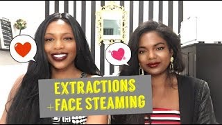 Extractions -Why Face Steaming Helps Get the Junk Out!