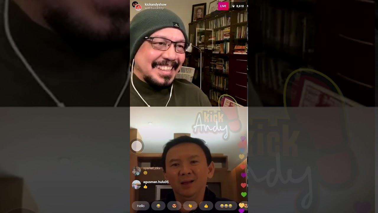 IG LIVE - APA KABAR PAK AHOK? [3/4]