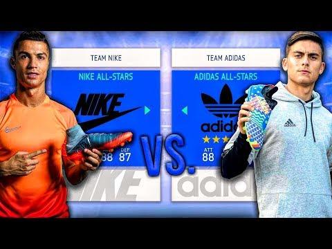 Nike ALL-STARS vs. Adidas ALL-STARS - FIFA 19 Career Mode