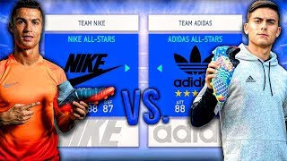 Nike ALL-STARS vs. Adidas ALL-STARS - FIFA 19 Career Mode