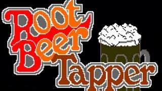 Classic Arcade Game Root Beer Tapper on PS3 in HD 1080p