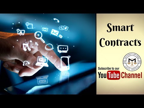 Smart Contracts - Part 1: Smart Contracts - Blockchain & IoT