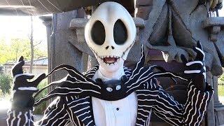 Jack Skellington Meet & Greet at Disneyland Paris Halloween Festival 2018 - Jack's Cemetery