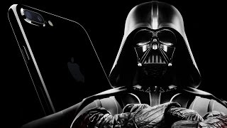 What if Darth Vader presents iPhone 7 Jet Black