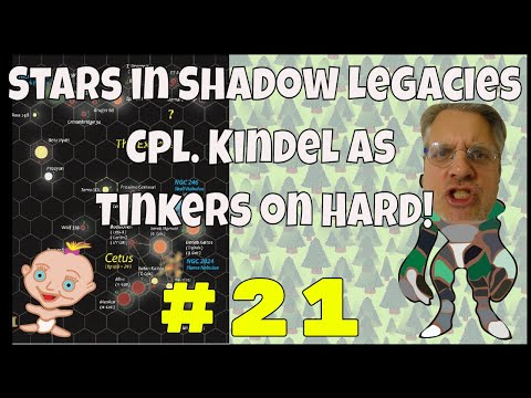 Stars in shadow legacies #21 Tinkers, hard; sis is a 4x strategy space pc game like Space Empires