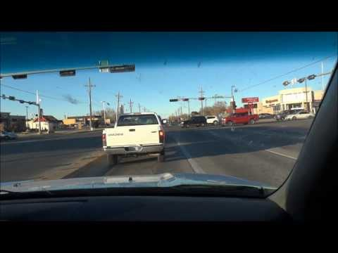 Driving from South Plains Mall Neighborhood to Lubbock International Airport Lubbock, TX