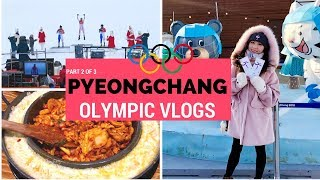Pyeongchang 2018 Winter Olympics Vlog - Part 2 of 3 | KOREA TRAVEL VLOG