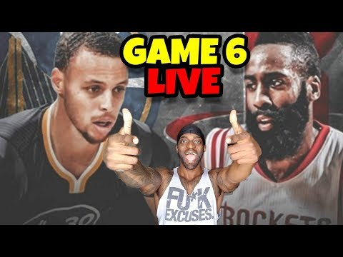 Houston Rockets vs Golden Stat Warriors LIVE GAME 6