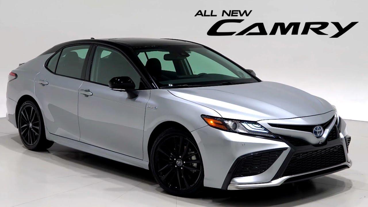 new 2021 toyota camry  hybrid sedan  xse  youtube