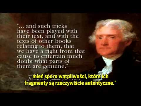 Thomas Jefferson o chrześcijaństwie