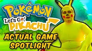 Pokemon Let's Go: Pikachu & Eevee ACTUAL Game Spotlight