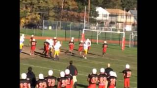 Chris Collier #33 Lawrence Football Highlights