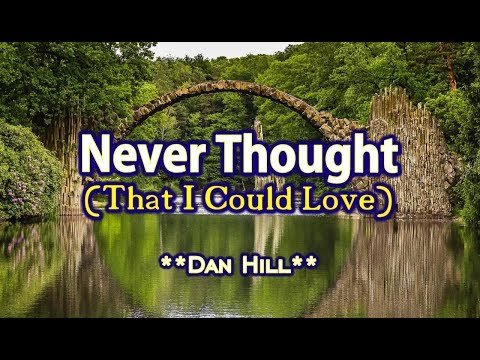 Never Thought That I Could Love - Dan Hill KARAOKE